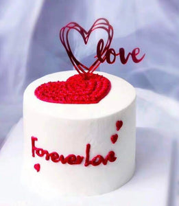 CAKE TOPPER DOUBLE LOVE 1s