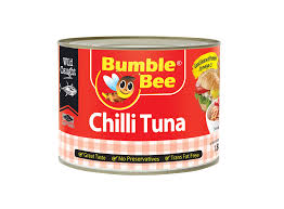 BUMBLE BEE CHILLI TUNA 185G