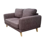 Modern Alaska Sofa 2 Seater - Brown