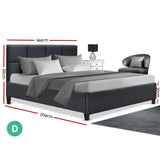 Artiss TINO Double Size Bed Frame