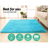 Artiss Floor Rugs Shaggy Rug Ultra Soft Large 200x230cm Carpet Anti-slip Area