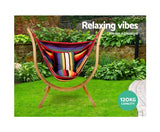 Hammock Chair With Wooden Stand Combo
