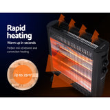 Devanti 2200W Infrared Radiant Heater Portable Electric Heating Panel