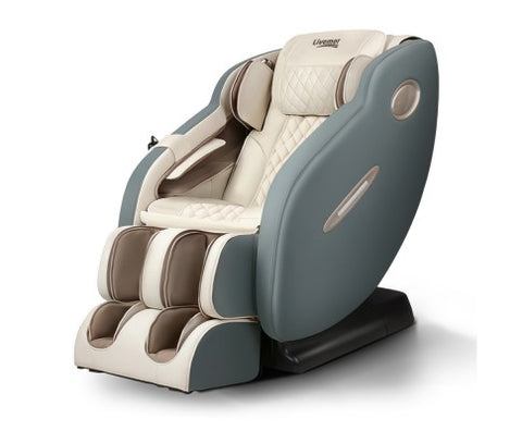 Livemor 3D Electric Massage Chair SL Navy Cream