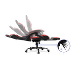 Gaming Office Chair Recliner Racer Black and Red