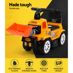 Keezi Kids Ride On Car Truck Bulldozer Digger Toy Foot to Floor
