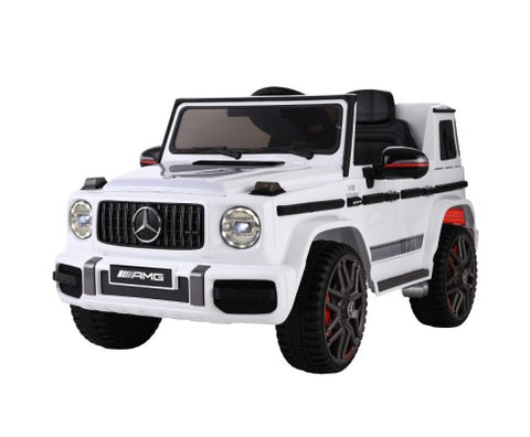 Mercedes-Benz Kids Ride On Car Electric AMG G63 12V White