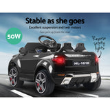 Rigo Kids Ride On Car - Black RR Evoque Replica
