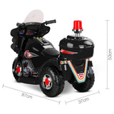 Rigo Kids Ride On Motorbike Car Black