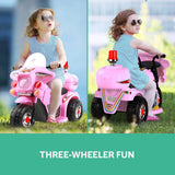 Rigo Kids Ride On Motorbike Pink