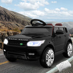 Rigo Kids Ride On Car Electric 12V All Black Replica Evoque
