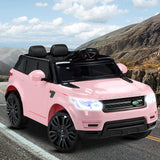 Rigo Kids Ride On Car - Pink RR Evoque Replica