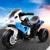 Kids Ride On Motorbike BMW Licensed S1000RR Blue