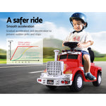 Ride On Cars Kids Electric Truck Red
