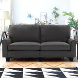 Artiss 3 Seater Sofa Suite Lounger - Dark Grey