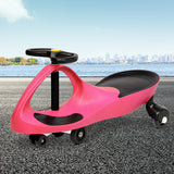 Keezi Kids Ride On Swing Car - Pink