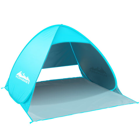 Weisshorn Pop Up Beach Tent 3 Person Sun Shelter