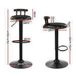 Artiss 2x Kitchen Bar Stools Vintage Bar Stool