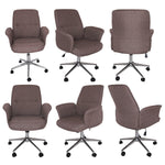 Olsen Executive Latte Fabric Office Chair