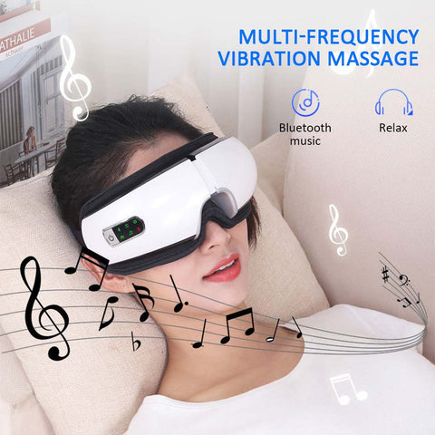 Eye Massager Air Pressures Wrinkle Fatigue Relieve Eye Vibration Massage