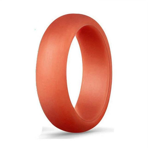 Silicone Hypoallergenic Flexible Gold Rubber Ring