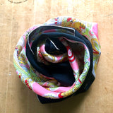 Italian Silk Paisley Scarf by Vanette Creations (c.1960s) - Rush Creek Vintage