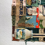 Old Book Art Collage, 'Hold the Mayo' - Rush Creek Vintage