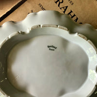 Antique Haviland White Oval Soup Tureen (c. early 1900s) - Rush Creek Vintage