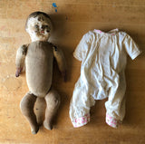 Creepy Antique Composition Baby Doll (c.1900s) - Rush Creek Vintage