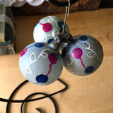 Vintage Hand Painted Blown Glass Ornaments (c.1940s) - Rush Creek Vintage
