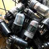 Large Group of Industrial Vintage Vacuum Tubes (c.1900s) - Rush Creek Vintage