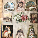 Victorian Scrapbook with Assorted Ephemera (c.1800s) - Rush Creek Vintage