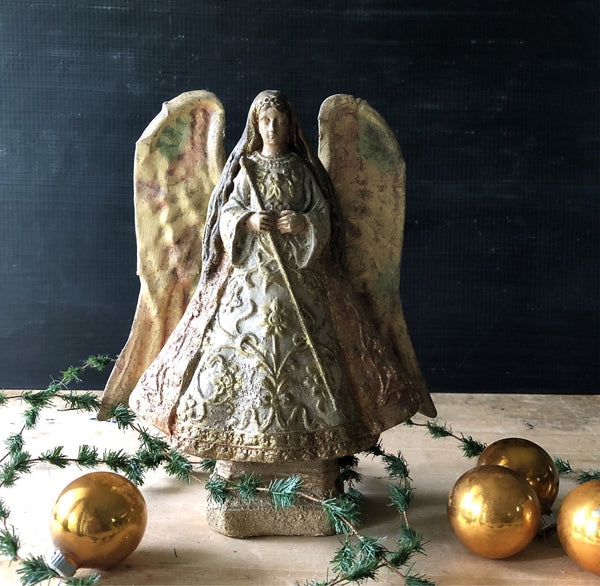Vintage Silvestri Christmas Angel - Rush Creek Vintage