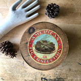 Antique Necco Advertising Bentwood Box (early 1900s) - Rush Creek Vintage