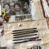 Layered Vintage Paper Art Collage, 'Teachers' - Rush Creek Vintage