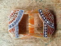 Vintage Art Deco Belt Buckles - Rush Creek Vintage