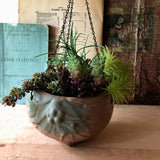 Early McCoy Pottery Hanging Planter (c.1920s) - Rush Creek Vintage