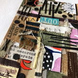 Ready to Frame Vintage Book Collage, 'Out' - Rush Creek Vintage