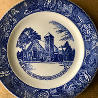 Mismatched Blue Transferware Vintage Dining Set (1900s) - Rush Creek Vintage
