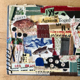 Mixed Media Collage, 'Let's Go Fishing' - Rush Creek Vintage