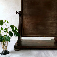Antique American Empire Vanity Mirror (c.19th century) - Rush Creek Vintage