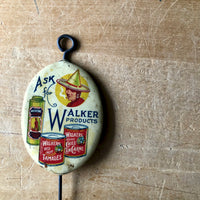 Mexican Food Celluloid Advertising Hook (c.1930) - Rush Creek Vintage