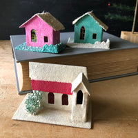 Vintage Putz Houses, Made in Japan (c.1950s) - Rush Creek Vintage