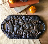 Vintage Cast Iron Animal Puzzle Mold (c.1984) - Rush Creek Vintage