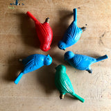 Vintage Plastic Decorative Bird Light Bulbs (c.1960s) - Rush Creek Vintage