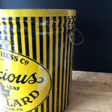 Maple Leaf Pure Lard Vintage Advertising Tin (c.1940s) - Rush Creek Vintage