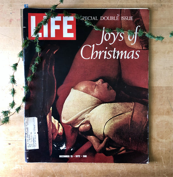Vintage LIFE Magazine Christmas Edition (1972) - Rush Creek Vintage
