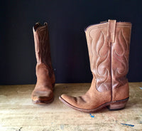 Vintage Acme Leather Cowboy Boots for Women - Rush Creek Vintage