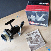 Vintage Berkely Fishing Reel with Original Box and Instructions (c.1960s) - Rush Creek Vintage
