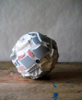 Upcycled Pastel Mosaic Ornament - Rush Creek Vintage